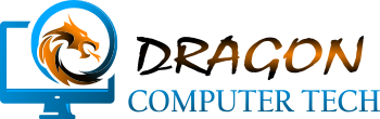 Dragon Computer Tech Logo